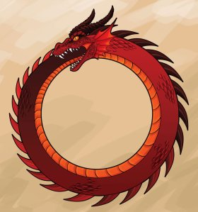Ouroboros_Dragon_by_NickShev
