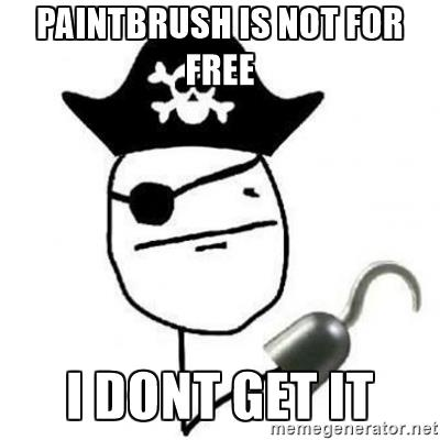 pirate paintbrush